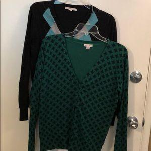 2 Merona Sweaters